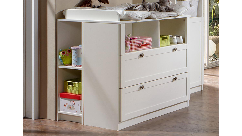 babyzimmerset filou 3 teilig bett schrank kommode alpinwei. Black Bedroom Furniture Sets. Home Design Ideas