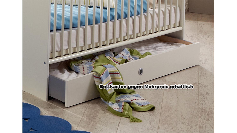 Babybett Weiß 70x140 : babybett bibi in wei dekor kinderbett babyzimmer 70x140 ~ Indierocktalk.com Haus und Dekorationen
