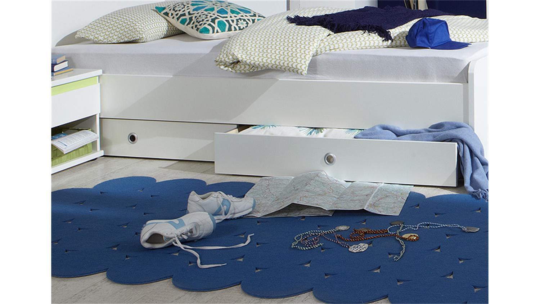 Set mit bettkasten gallery of schlafsofa mit bettkasten - Kinderbett doppel ...
