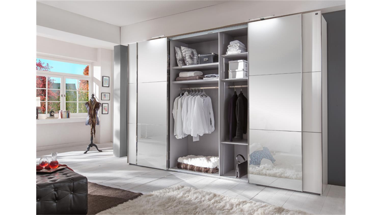 schwebet renschrank escape alpinwei mit spiegel 350 cm. Black Bedroom Furniture Sets. Home Design Ideas