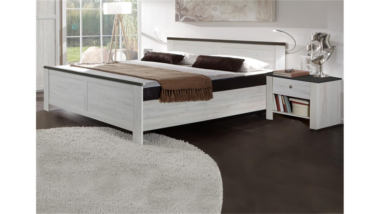 schlafzimmer kombi 1 chateau in wei eiche. Black Bedroom Furniture Sets. Home Design Ideas