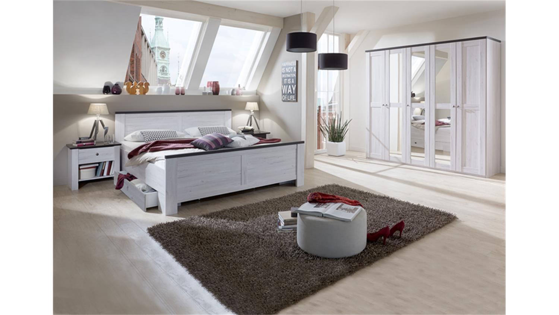 Schön Schlafzimmer Kombi 2 Chateau In Weißeiche