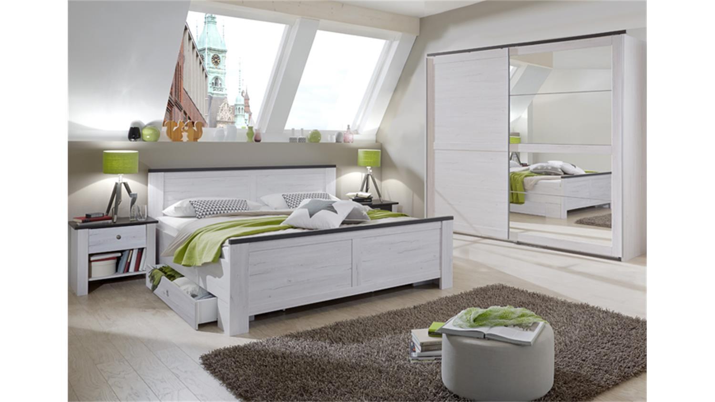 Schlafzimmer Kombi 3 Chateau In Weißeiche