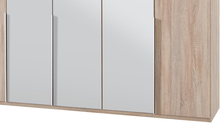 kleiderschrank new york a in eiche s gerau 225 cm. Black Bedroom Furniture Sets. Home Design Ideas