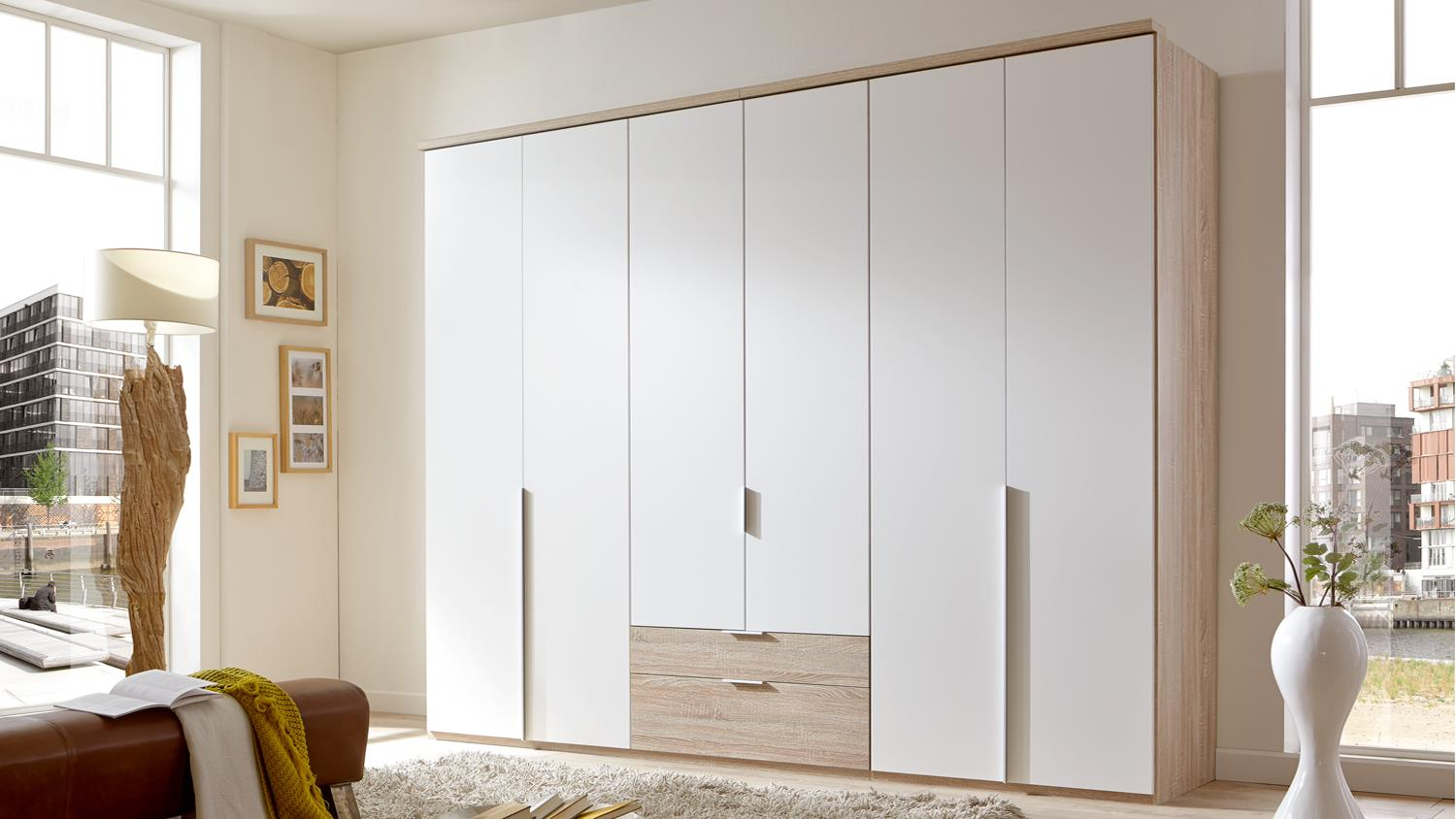 kleiderschrank new york a in alpinwei eiche s gerau 270 cm. Black Bedroom Furniture Sets. Home Design Ideas