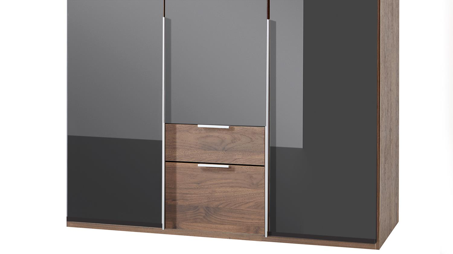 kleiderschrank modern schwarz neuesten. Black Bedroom Furniture Sets. Home Design Ideas
