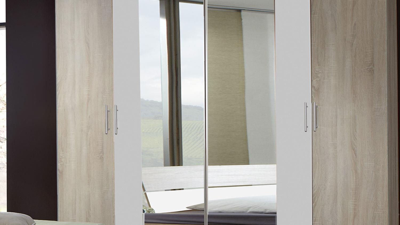 schlafzimmer franziska eiche s gerau doppelbett kleiderschrank. Black Bedroom Furniture Sets. Home Design Ideas