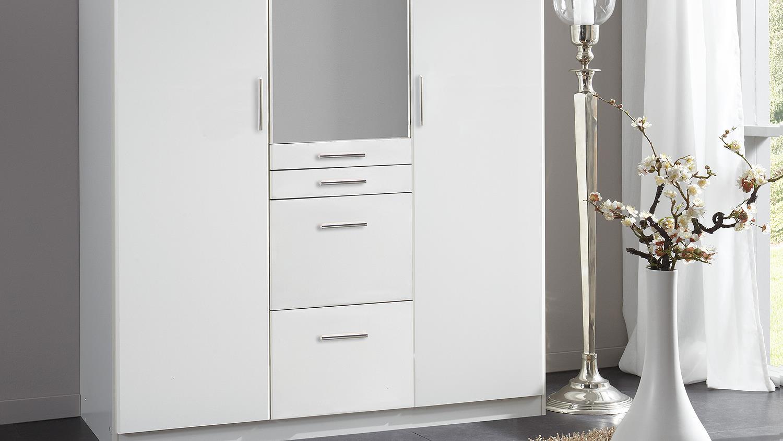 kleiderschrank aachen schrank dreht renschrank in wei mit spiegel 135. Black Bedroom Furniture Sets. Home Design Ideas