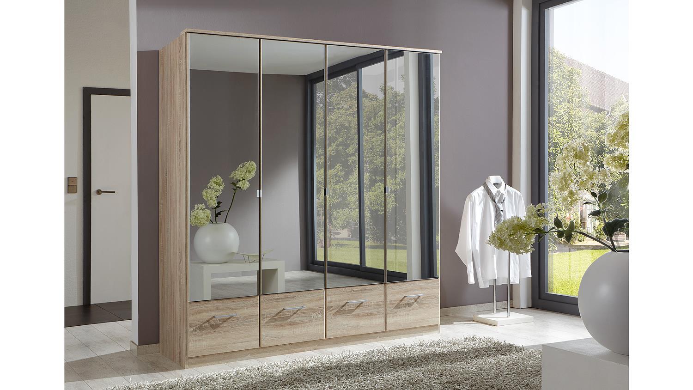 kleiderschrank imago schrank schlafzimmerschrank eiche s gerau 180 cm. Black Bedroom Furniture Sets. Home Design Ideas