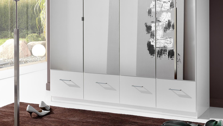 Kleiderschrank IMAGO Schrank Schlafzimmerschrank in weiß ...