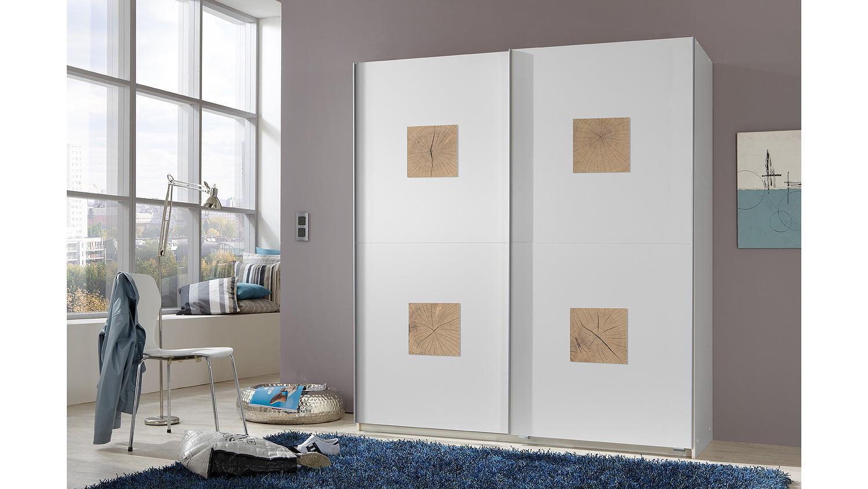 schwebet renschrank graz kleiderschrank in wei und hirnholz 180 cm. Black Bedroom Furniture Sets. Home Design Ideas