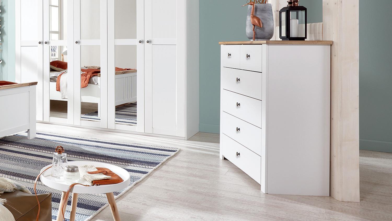Cool Kommode Schlafzimmer Weiß Galerie Von
