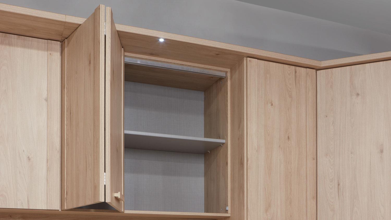 Schlafzimmer Mainau 4 Tlg Hickory Oak Spiegel 180x200 Cm