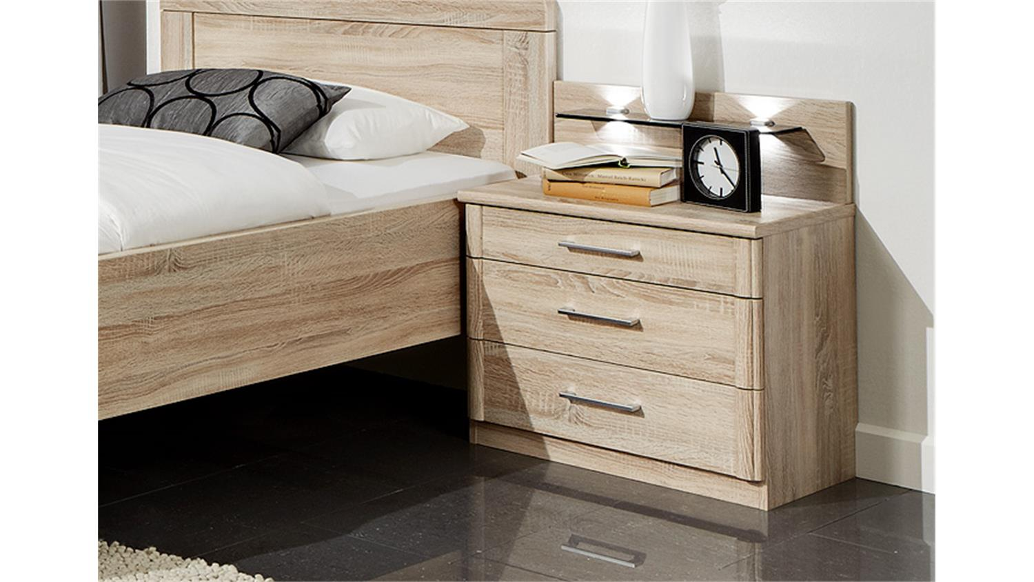 nachtkommode meran kommode nako in eiche s gerau. Black Bedroom Furniture Sets. Home Design Ideas