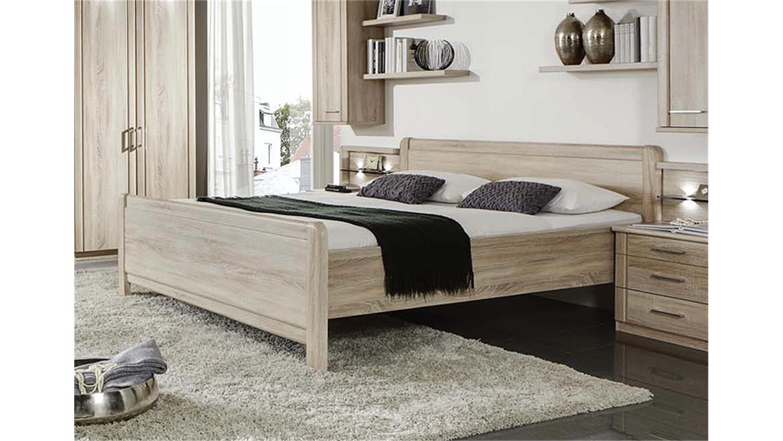 schlafzimmerset valencia bett schrank nako eiche s gerau. Black Bedroom Furniture Sets. Home Design Ideas
