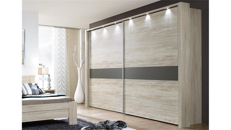 schwebet renschrank donna eiche s gerau havanna 250 cm. Black Bedroom Furniture Sets. Home Design Ideas