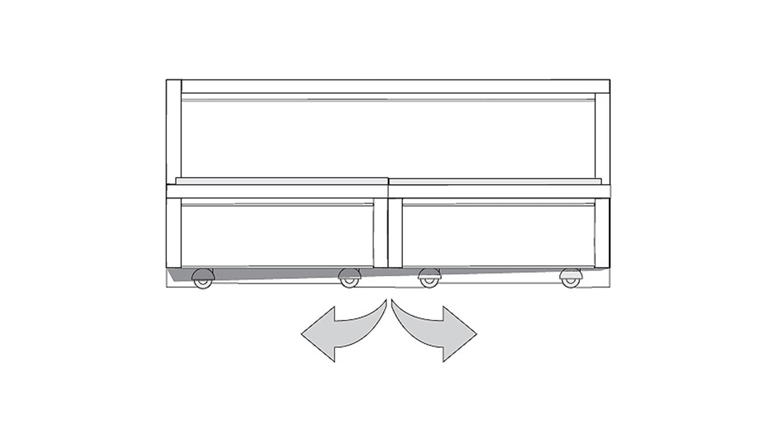 bett auf rollen modernes europaletten bett selber bauen. Black Bedroom Furniture Sets. Home Design Ideas