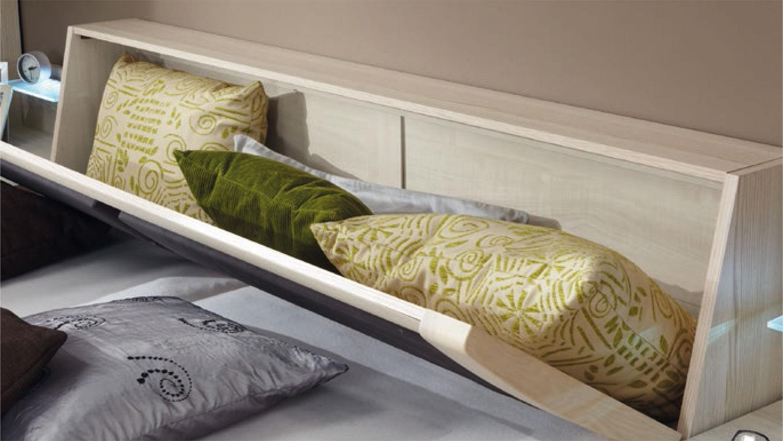 bett luxor schlafzimmer in polar l rche 180x200 cm. Black Bedroom Furniture Sets. Home Design Ideas