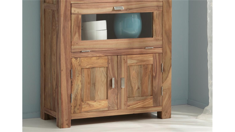 brotschrank yoga 6507 sheesham massiv landhausstil wolf m bel. Black Bedroom Furniture Sets. Home Design Ideas