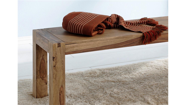 bank 180cm yoga sheesham massiv landhausstil von wolf m bel. Black Bedroom Furniture Sets. Home Design Ideas