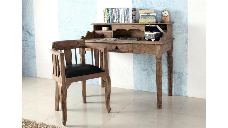 sessel bombay massivholz sheesham natur von wolf m bel. Black Bedroom Furniture Sets. Home Design Ideas