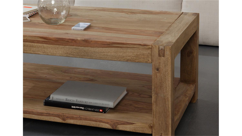 couchtisch yoga sheesham massiv von wolf m bel 120x80 cm. Black Bedroom Furniture Sets. Home Design Ideas