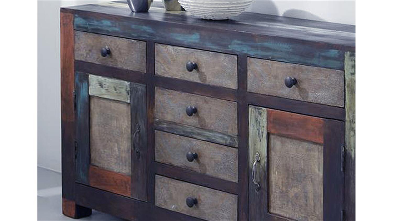sideboard goa 3501 von wolf m bel in massivholz mango. Black Bedroom Furniture Sets. Home Design Ideas