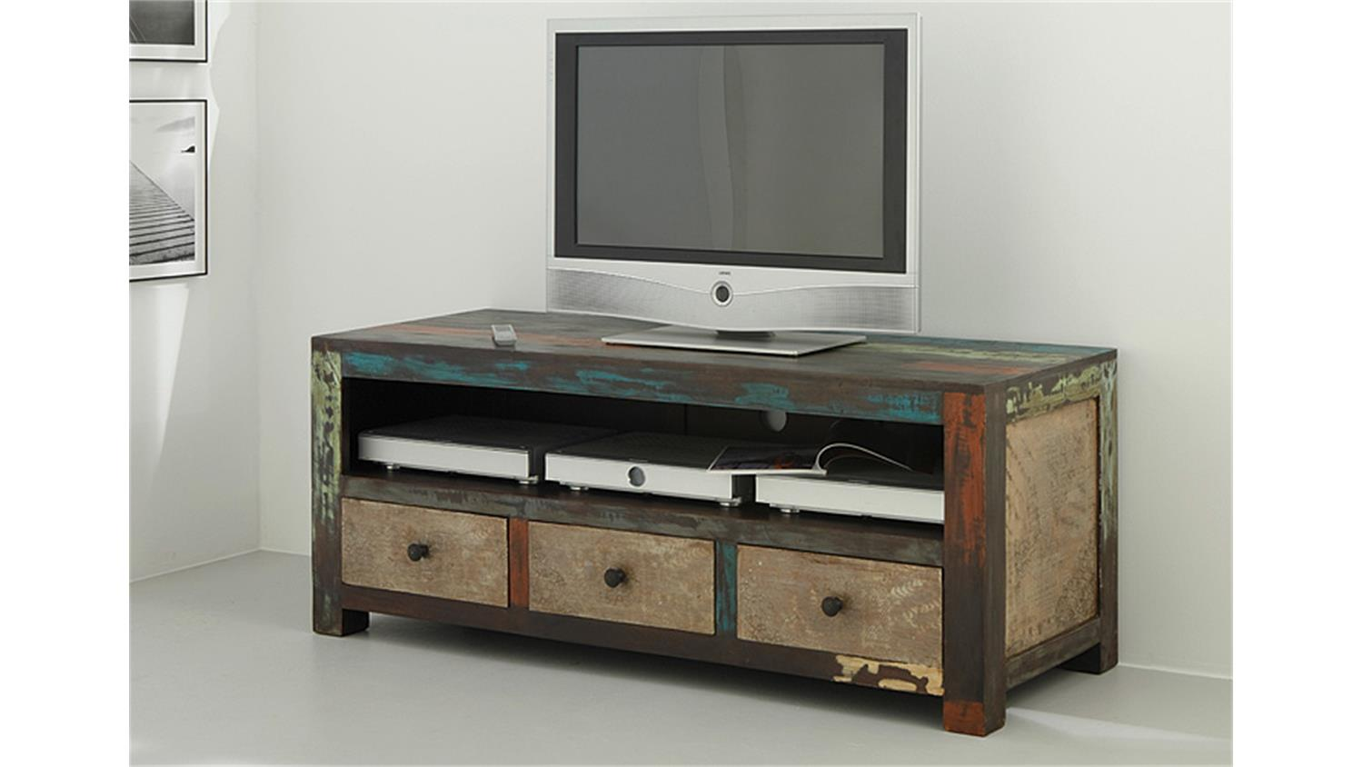 longboard tv board goa von wolf m bel in massivholz mango. Black Bedroom Furniture Sets. Home Design Ideas