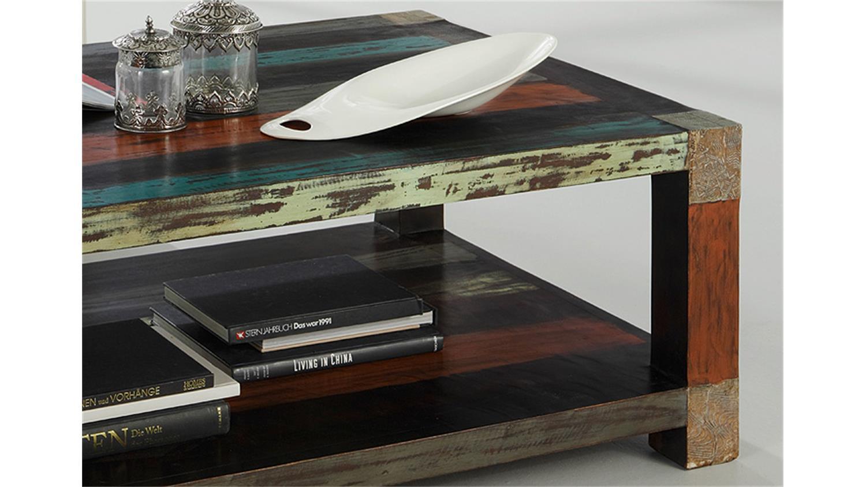 Couchtisch GOA von Wolf Möbel in Massivholz Mango 120×80