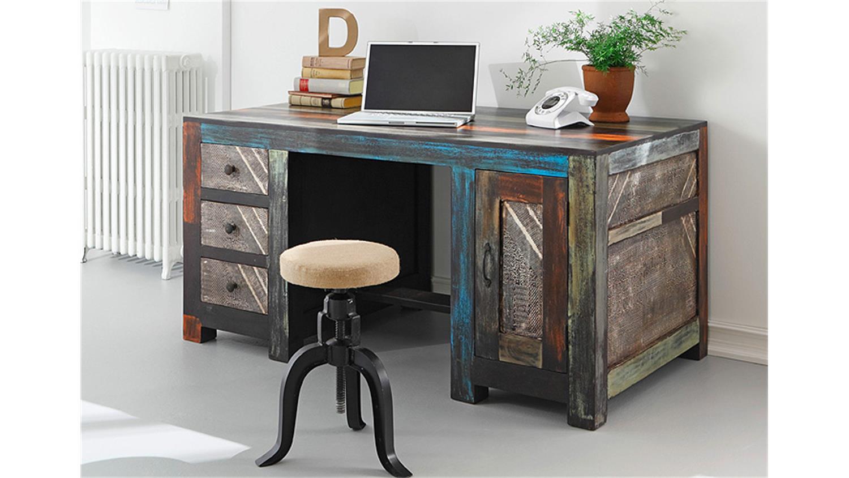 schreibtisch goa von wolf m bel in massivholz mango. Black Bedroom Furniture Sets. Home Design Ideas