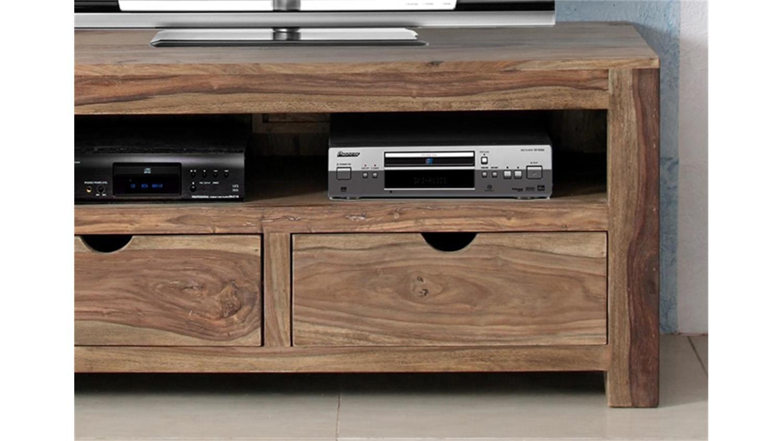 tv kommode yoga sheesham natur massiv von wolf m bel. Black Bedroom Furniture Sets. Home Design Ideas