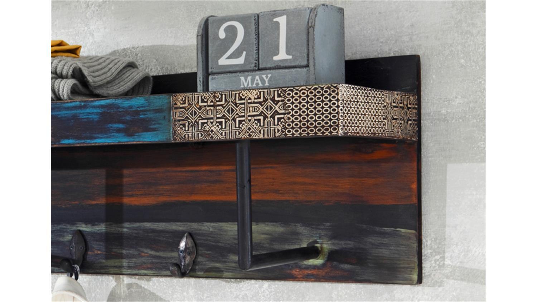 garderobe goa mit hutablage von wolf m bel massivholz mango. Black Bedroom Furniture Sets. Home Design Ideas