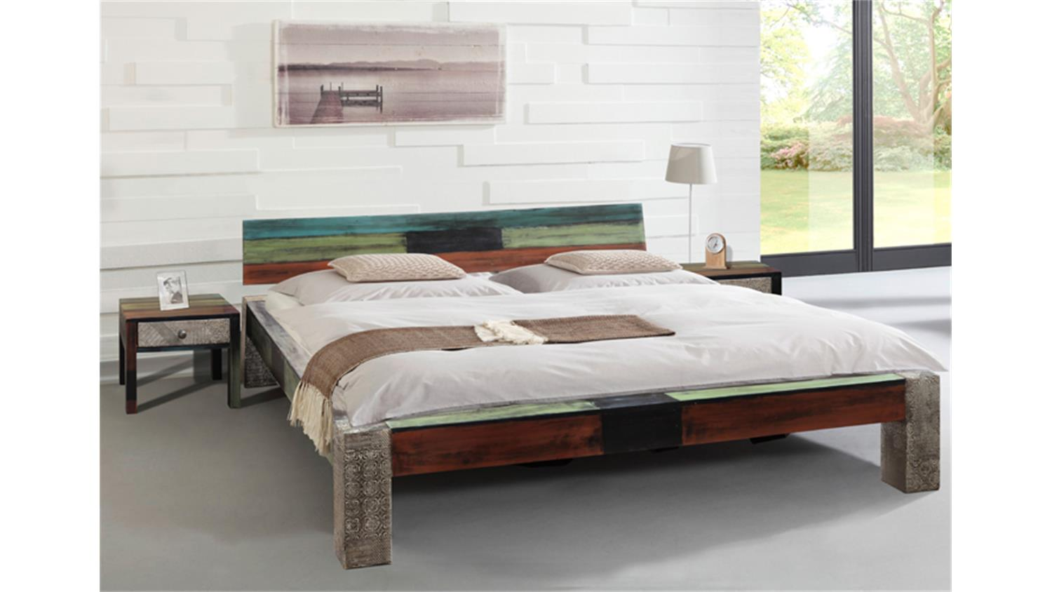 bett goa 180x200 von wolf m bel in massivholz mango. Black Bedroom Furniture Sets. Home Design Ideas