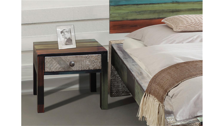 nachttisch goa von wolf m bel in massivholz mango. Black Bedroom Furniture Sets. Home Design Ideas