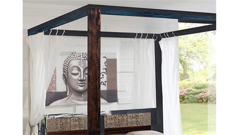 himmelbett holz 180x200 excellent himmelbett holz x. Black Bedroom Furniture Sets. Home Design Ideas