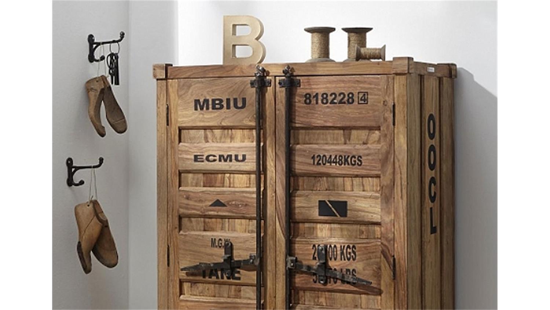 highboard 6912 container von wolf m bel in massivholz. Black Bedroom Furniture Sets. Home Design Ideas
