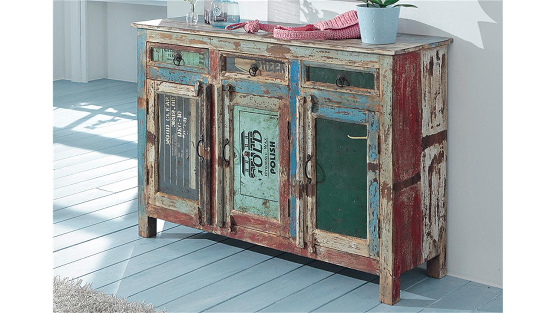 kommode himalaya 3738 old recycled wood von wolf m bel. Black Bedroom Furniture Sets. Home Design Ideas