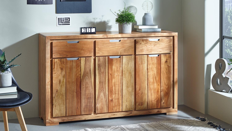 kommode vision 2820 acana akazie massivholz von wolf m bel. Black Bedroom Furniture Sets. Home Design Ideas