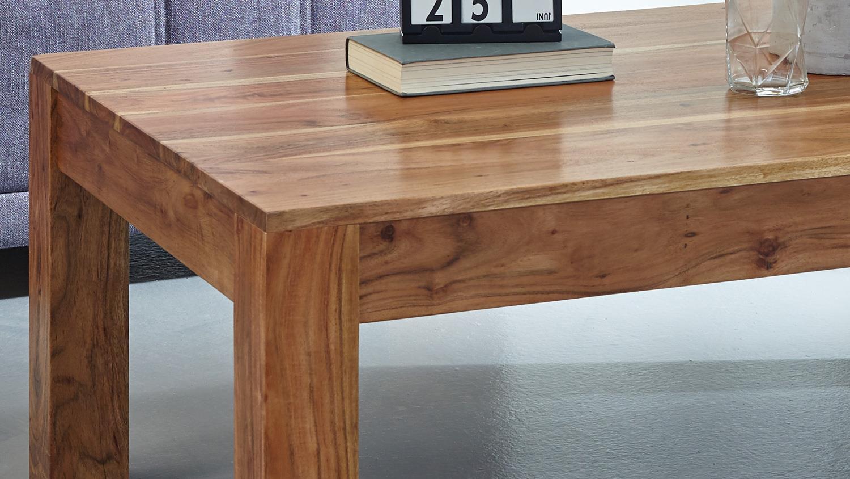 Couchtisch VISION 2839 Wolf Möbel 117×75 cm Akazie massiv