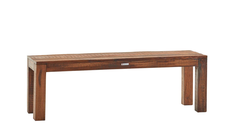 bank guru 6632 sitzbank in akazie massiv forest 140 cm von wolf m bel. Black Bedroom Furniture Sets. Home Design Ideas