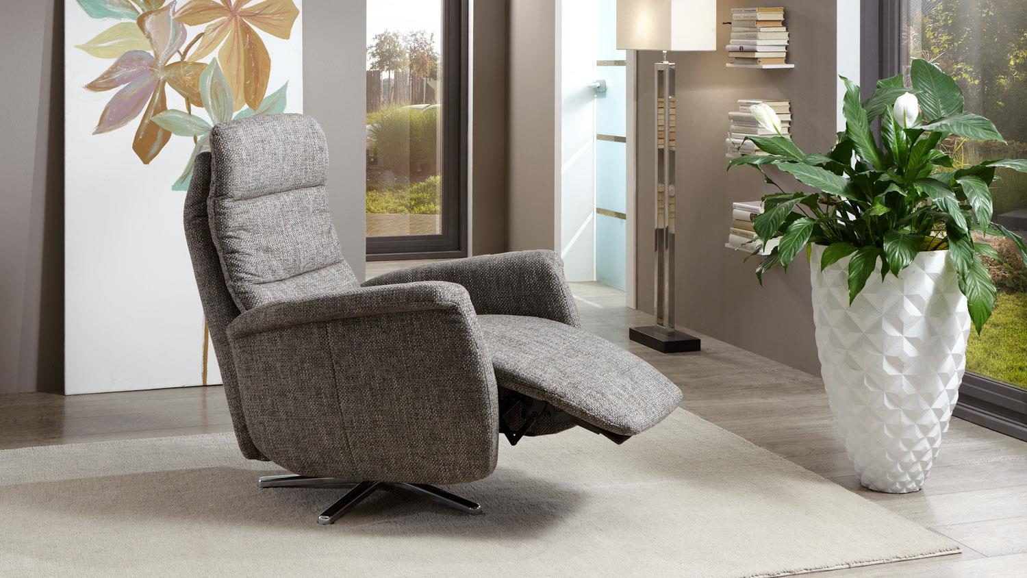 TV-Sessel MYSTYLE Relaxsessel Stoff nougat Funktion