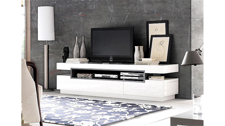 tv lowboard wei hochglanz gnstig stunning lowboard wei hochglanz genial genial wohnwand schwarz. Black Bedroom Furniture Sets. Home Design Ideas