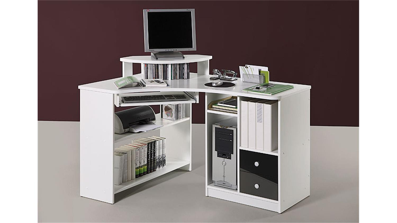 schreibtisch tanga ecktisch f r computer in eiche sonoma. Black Bedroom Furniture Sets. Home Design Ideas