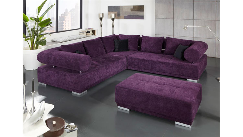 schlafsofa lila m belideen. Black Bedroom Furniture Sets. Home Design Ideas