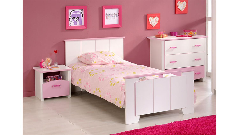 kinderzimmerset beauty iv kinderzimmer in wei rosa 3 tlg. Black Bedroom Furniture Sets. Home Design Ideas