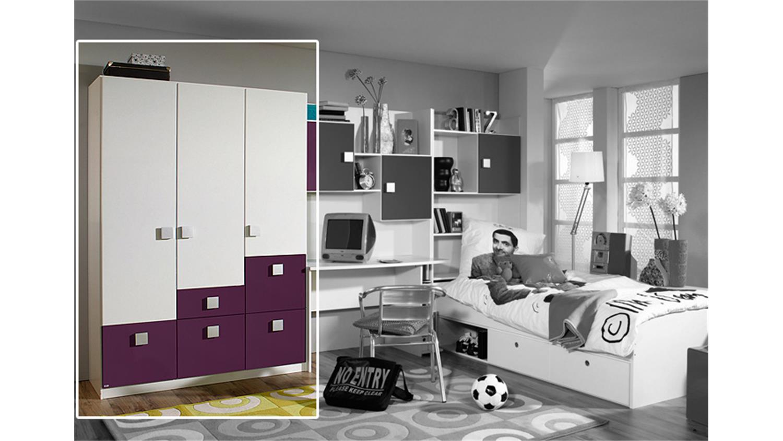 wei lila kleiderschrank interessante ideen. Black Bedroom Furniture Sets. Home Design Ideas