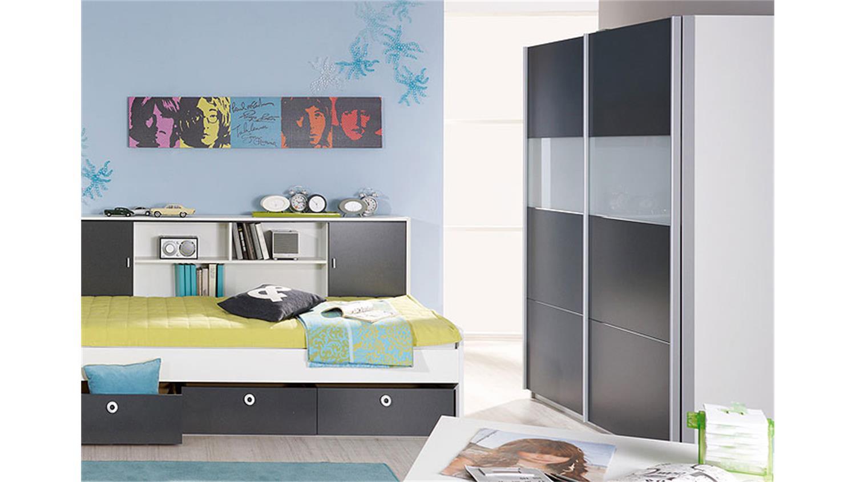 schwebet renschrank chica in alpinwei und grau metallic. Black Bedroom Furniture Sets. Home Design Ideas