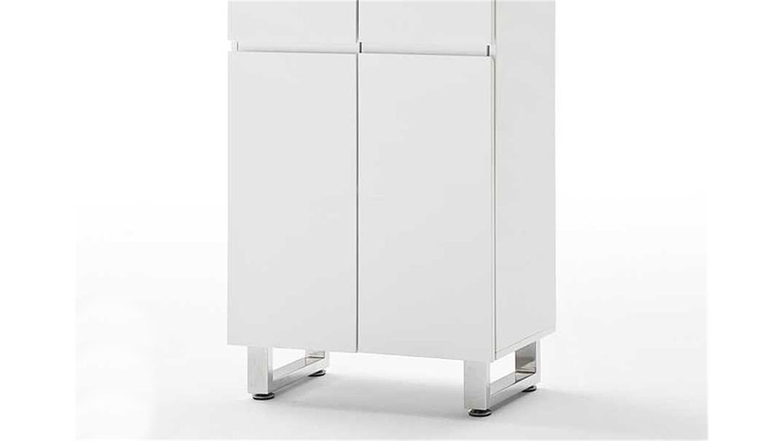 garderobenschrank sydney wei hochglanzlack. Black Bedroom Furniture Sets. Home Design Ideas