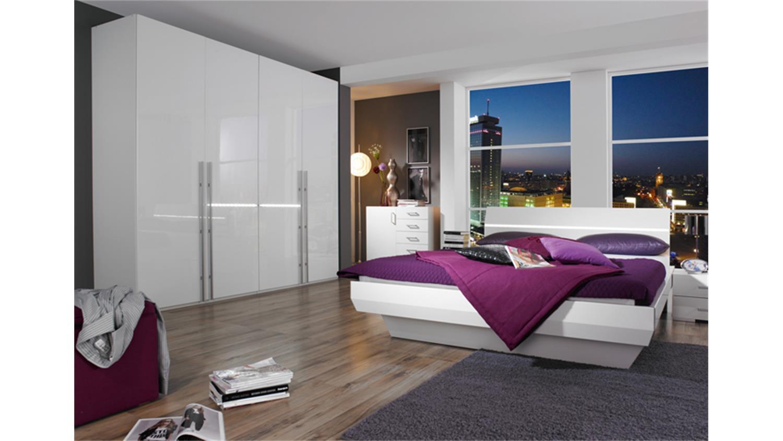 dreht renschrank tira hochglanz wei integrierte beleuchtung. Black Bedroom Furniture Sets. Home Design Ideas