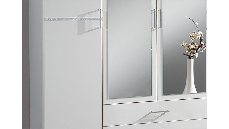 komaro kleiderschrank 180 cm wei strass. Black Bedroom Furniture Sets. Home Design Ideas